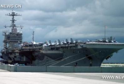 Siêu tàu chiến Mỹ ghé thăm Thái Lan