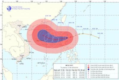 Tập trung cao độ ứng phó mưa lũ và siêu bão Megi