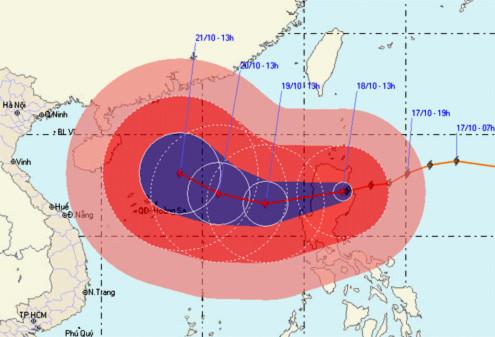 Trung Quốc đối phó với siêu bão.