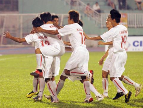 Việt Nam thắng đậm Myanmar ở giải U21 quốc tế