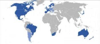 """""""Bản đồ Thế giới"""" của Trung Quốc không cần Google"""