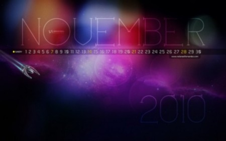 BST Wallpaper tháng 11 tràn ngập sắc màu