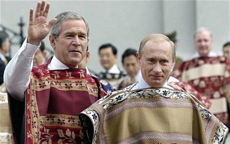 Các nguyên thủ thế giới trong mắt Bush