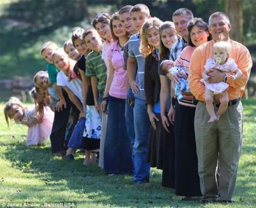 Gia đình đông con nhất nước Mỹ