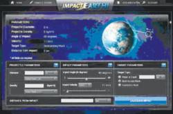 Giả lập vụ va chạm tiểu hành tinh - trái đất
