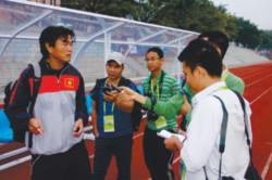 """HLV Phan Thanh Hùng: """"Olympic VN có thể kiếm điểm trước Iran"""""""
