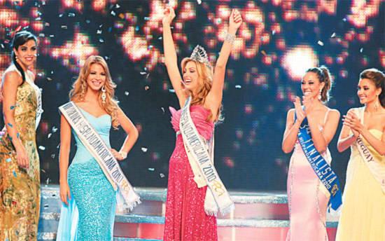 Hoa hậu Venezuela đăng quang ngôi Hoa hậu Mỹ La Tinh 2010