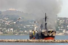 Hỏa hoạn trên tàu Hàn Quốc, một người Việt thiệt mạng