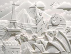 Điêu khắc nổi 3D trên giấy