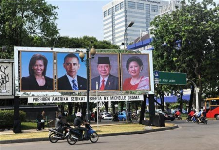 Indonesia sốt sắng chờ đón Obama