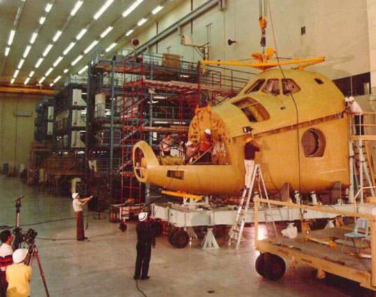 Khám phá nội thất 'khủng' của tàu Discovery