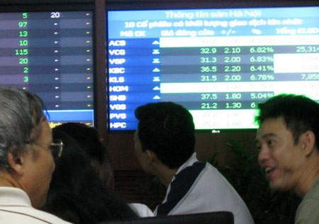 Khối lượng giao dịch đột biến, VN-Index tăng hơn 8 điểm