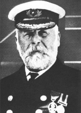 Thuyền trưởng Smith của tàu Titanic.  (Ảnh: titanic.wz.cz)