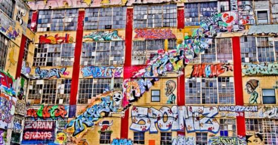Lóa mắt với triển lãm nghệ thuật Graffiti đẹp nhất hành tinh