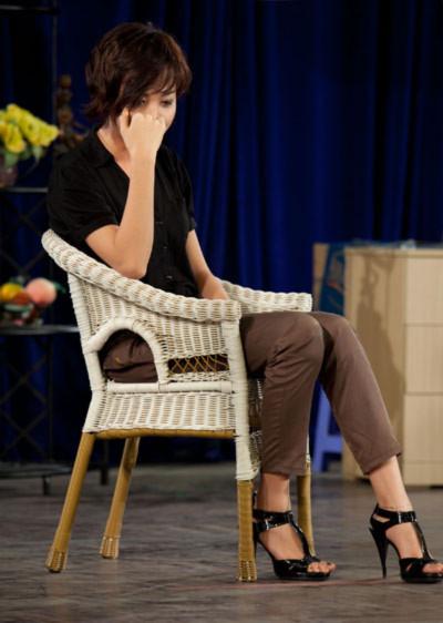 Đàm Thu Trang hóa thân vào vai diễn