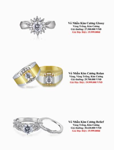 Nhiều mẫu trang sức mới tại 'Lễ hội kim cương'