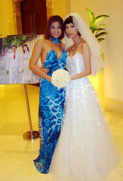 Những đám cưới cực 'đình đám' của siêu mẫu Việt - Tin180.com (Ảnh 3)