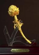 Đóa hoa artiso bằng vàng lớn nhất VN