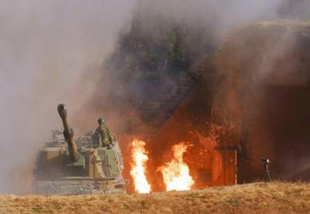 Pháo lại nổ trên bán đảo Triều Tiên