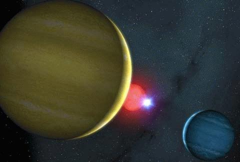 Phát hiện hệ sao lạ giống trò chơi bi-a