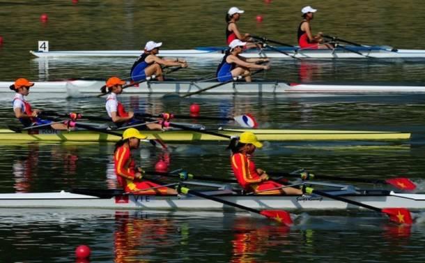 Rowing xuất sắc mang HCB thứ 8 về cho Việt Nam