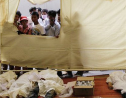Số người chết vì giẫm đạp ở Campuchia lên 456