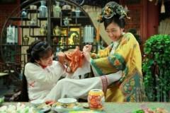 """""""Tân Hoàn Châu Cách Cách"""": Tiểu Yến Tử với gà quay"""