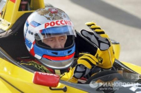 Thủ tướng Nga Putin lái xe đua Công thức 1