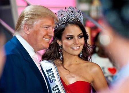Tỷ phú Hoa hậu tính chuyện tranh cử tổng thống Mỹ