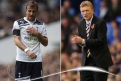 Van der Vaart và David Moyes xuất sắc nhất Premier League tháng 10