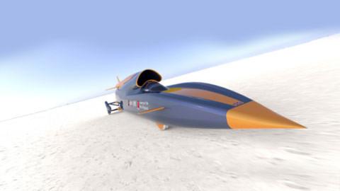 Xe siêu thanh tốc độ hơn 1.600 km/giờ