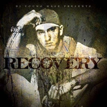 Album Recovery của Eminem. Ảnh: Aftermath Entertainment/ Shady Records.