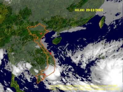 Áp thấp nhiệt đới suy yếu, miền Bắc trời trở rét