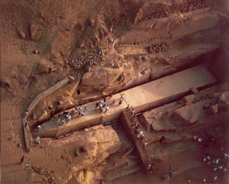 Bí ẩn các kiến trúc khổng lồ thời thượng cổ