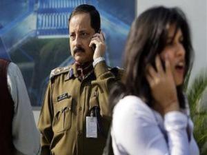 Dùng điện thoại di động ở New Dheli