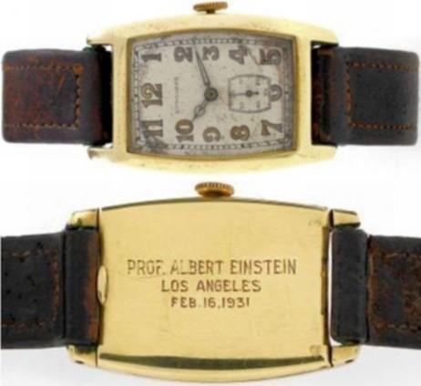 Chiếc đồng hồ của Einstein được bán với giá kỷ lục