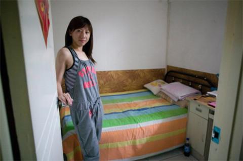Căn phòng của Dong Ying dưới mặt đất. Ảnh: Spiegle Online.