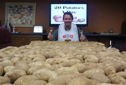 Giảm 10 kg bằng cách ăn khoai tây