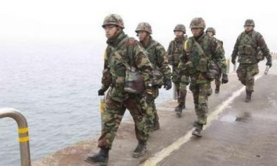 Hàn Quốc bắt đầu diễn tập bắn đạn thật tại 29 điểm