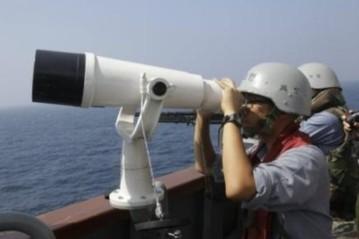 Hàn Quốc tập trận bắn đạn thật ở ngoài khơi tất cả các bờ biển