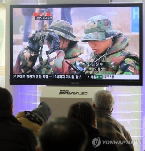 Hàn Quốc tập trận, cả thế giới nín thở