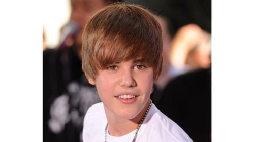 Justin Bieber được tìm nhiều nhất trên Google 2010