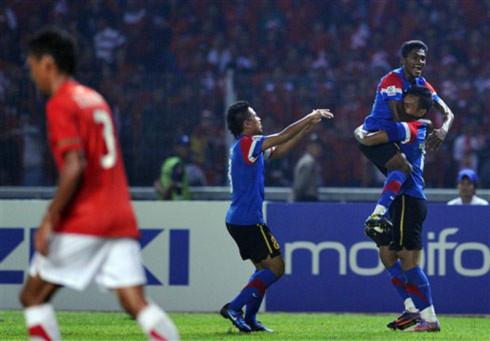 Malaysia lần đầu vô địch bóng đá Đông Nam Á