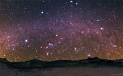 Mưa sao băng lấp lánh bầu trời đêm