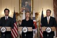 Mỹ - Nhật - Hàn ra tuyên bố chung