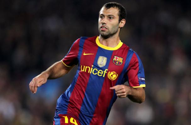Nhờ Mascherano, Barca có cơ hội sở hữu Fabregas