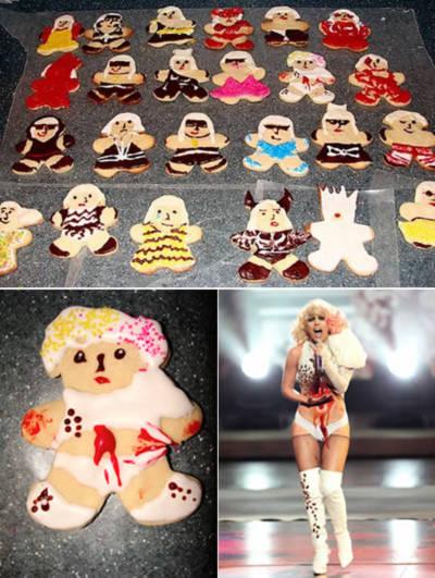 Những chiếc bánh quy lạ mắt