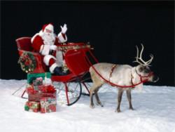 Ông Noel phát quà như thế nào?