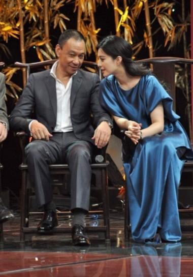 Phạm Băng Băng thân thiết với nam diễn viên 64 tuổi Vương Học Kỳ.