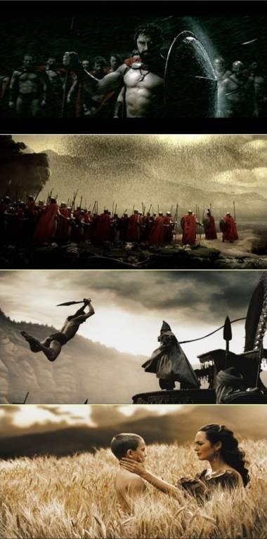 The Warrior's Way bị giới phê bình đưa ra so sánh với 300. Ảnh: Warner Bros.